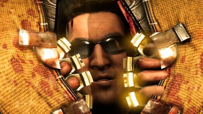 Johnny Cage está de volta em Mortal Kombat X e ele trouxe toda a família (Foto: Reprodução/CraveOnline)