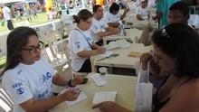 Ação Global em Vila Velha realizou 34 mil atendimentos à população (Carolina Malisek)