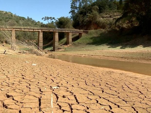 Crise hídrica no Espírito Santo (Foto: Reprodução/ TV Gazeta)
