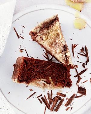 Bolo de chocolate com banana e especiarias (Foto: Casa e Comida)