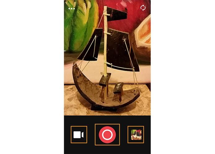 Aplicativo Camu oferece recursos para melhorar as fotografias (Foto: Reprodução/Barbara Mannara)