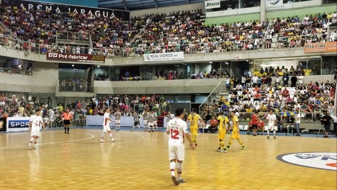Falcão Jaraguá Sorocaba semifinal liga futsal (Foto: Divulgação/Sorocaba)