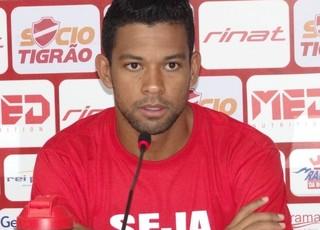 Wallyson - atacante do Vila Nova (Foto: Comunicação / Vila Nova)