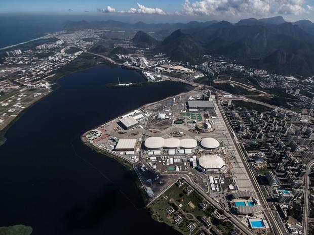 Parque Olímpico fica na Barrra da Tijuca, principal área de competições da Rio 2016 (Foto: Renato Sette Câmara/Parque Olímpico/Divulgação)