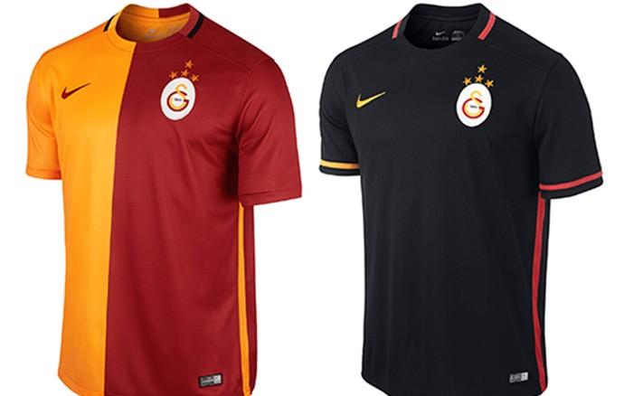 Camisas Champions galatasaray