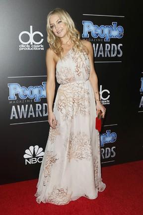 Kate Hudson em prêmio em Los Angeles, nos Estados Unidos (Foto: Danny Moloshok/ Reuters)