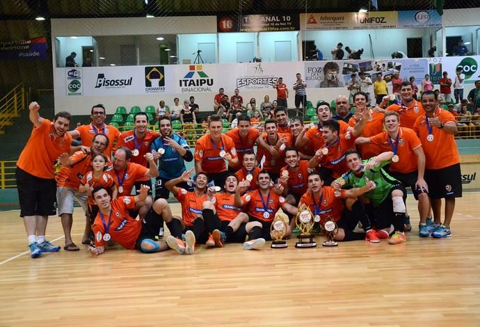 Carlos Barbosa Copa Cataratas futsal (Foto: Divulgação/ACBF)