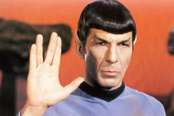 Leonard Nimoy como Spock (Foto: Divulgação)