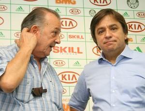 Frizzo Tirone Palmeiras diretoria (Foto: Anderson Rodrigues / globoesporte.com)