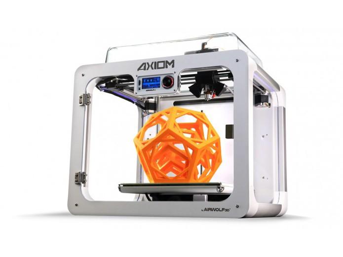 A Airwolf 3D AXIOM Direct Drive foi uma das melhores impressoras 3D de 2016 (Foto: Divulgação/Airwolf)