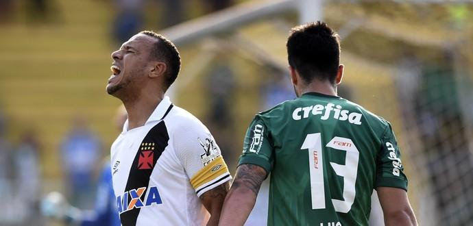 Luis Fabiano Vasco x Palmeiras (Foto: André Durão)