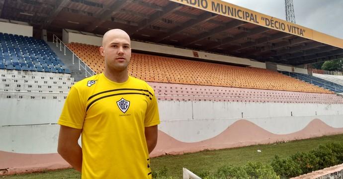 Caio Vinicius, atacante Rio Branco (Foto: Divulgação Rio Branco)