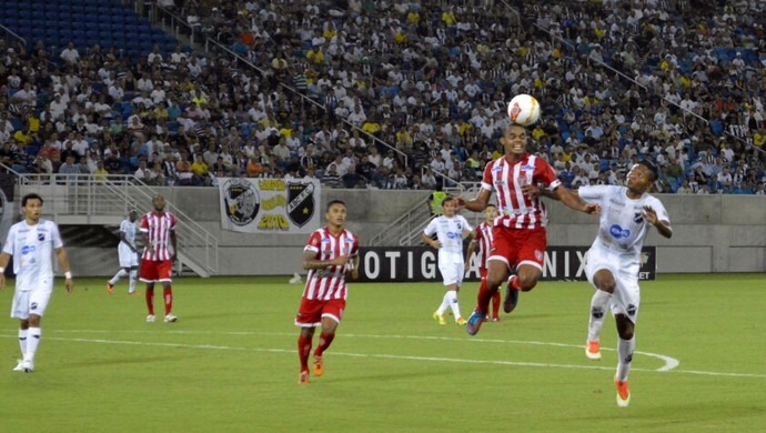 ABC x Potiguar de Mossoró, na Arena das Dunas, pelo Campeonato Potiguar (Foto: Marcelo Montenegro/Futebol Potiguar)
