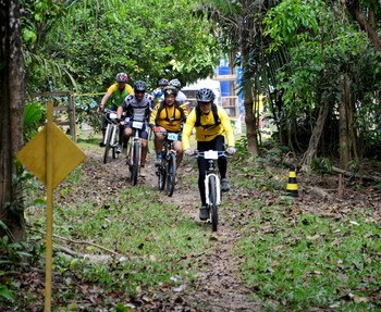 7ª etapa do Campeonato Acreano de Mountain Bike (Foto: Nathacha Albuquerque)