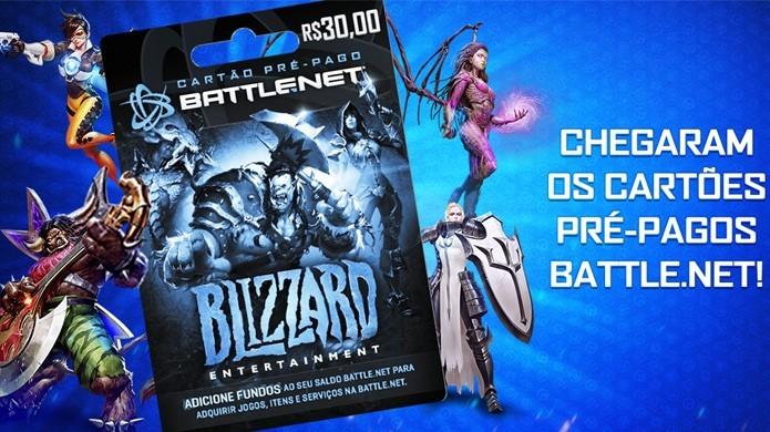Blizzard lança cartões pré-pagos da Battle.net no Brasil (Foto: Divulgação/Blizzard)