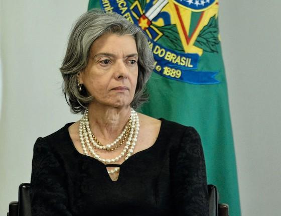 Cármen Lúcia presidente do STF.A suprema corte ainda terá de dar a segurança jurídica necessária  á renegociação das dívidas  dos estados com a União (Foto: RICARDO BOTELHO/BRAZIL PHOTO PRESS)