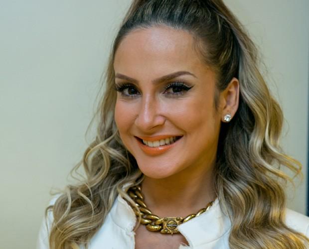 Claudia Leitte gosta de caprichar nos acessórios (Foto: Isabella Pinheiro / TV Globo)