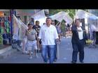 Cláudio Leitão percorre ruas do Jardim Esperança em Cabo Frio, RJ