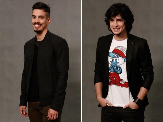 Felipe de Carolis (Sam) e Gabriel Leone (Guilherme) (Foto: Inácio Moraes/ Gshow)