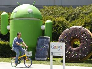 Sede do Google em Mountain View, na Califórnia. (Foto: Paul Sakuma/AP)