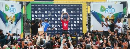 4ª etapa: Queridinho do público, John John conquista o Rio Pro (Divulgação/WSL)
