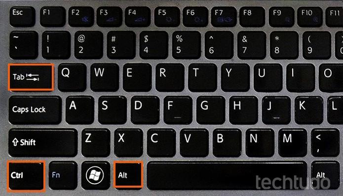 teclado (1) (Foto: Barbara Mannara/TechTudo)