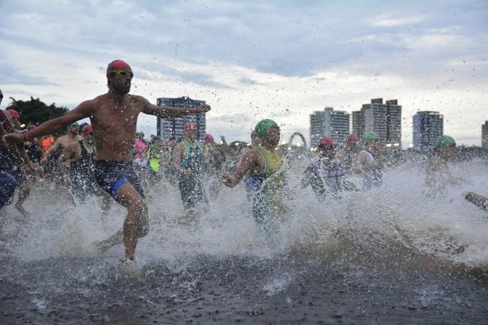 Aquathlon Amazonas Brasileiro (Foto: Antônio Lima/Sejel)