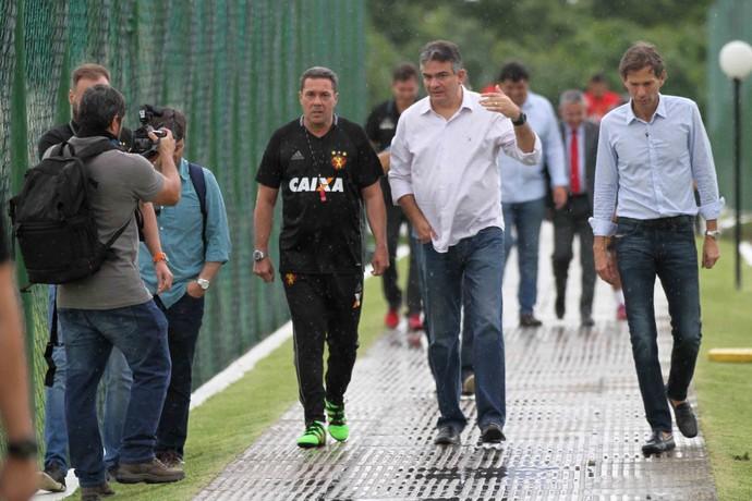 Vanderlei Luxemburgo Sport (Foto: Marlon Costa / Pernambuco Press)