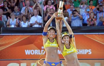 Com Mundial, Ágatha/Bárbara dispara na liderança do Circuito na temporada