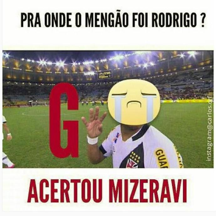 Zoação Rodrigo Flamengo no G4
