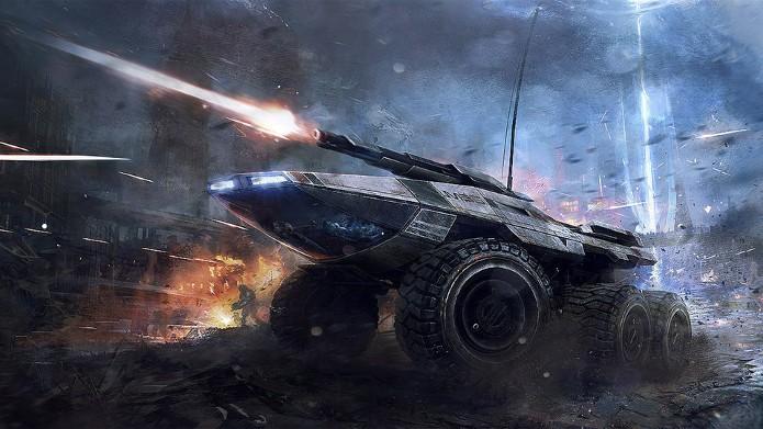 Mako, o veículo para todos os terrenos que virá no novo game de Mass Effect (Foto: Divulgação)
