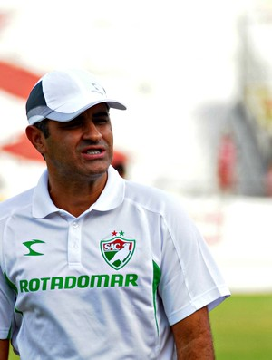 Marcelo Chamusca - Salgueiro (Foto: Antonio Carneiro/Pernambuco Press)
