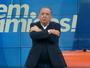 Emocionado, Galvão manda recado a Zagallo e anuncia entrevista especial
