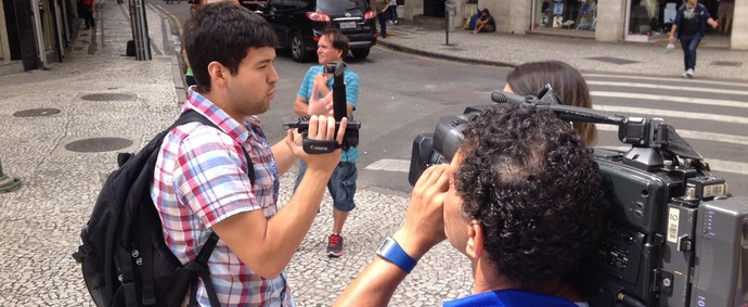 Fabio Meza norte-americano Curitiba (Foto: Gabriel Hamilko)