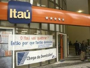 Segundo sindicato, apenas neste ano foram mais de 100 demissões (Foto: Divulgação/ Sindicato dos Bancários de Curitiba e Região)