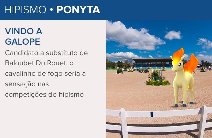 Pokémon GO - Rio 2016 - Ponyta (Foto: Infoesporte)