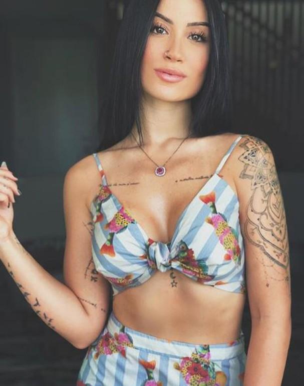 Bianca Andrade após colocar silicone nos seios (Foto: Reprodução/Instagram)