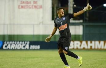 Ex-Frizão, goleiro Marcos retorna  ao Sampaio Corrêa para Copa Rio
