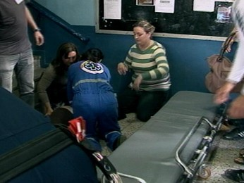 Mulher morre antes de votar 2 (Foto: Reprodução/ RBS TV)