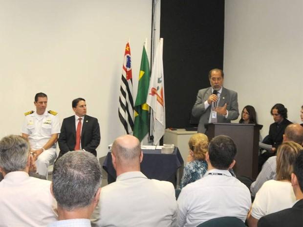 Cerimônia de assinatura do Plano aconteceu em Santos (Foto: Divulgação/Codesp)