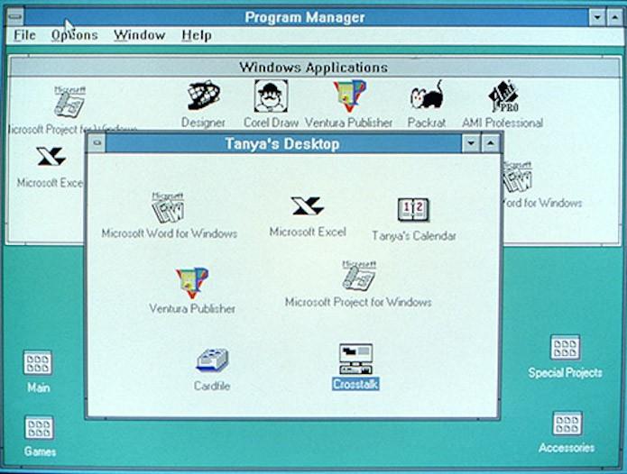 Windows 3/3.1: O primeiro Windows a fazer sucesso (Foto: Divulgação/Microsoft)