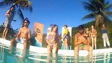 Direto de Angra dos Reis, festa na piscina agitou o Plugue de Verão (Reprodução/ Plugue)