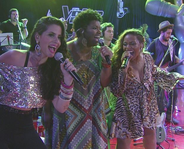 The Voice no BBB13 (Foto: Big Brother Brasil/TV Globo)