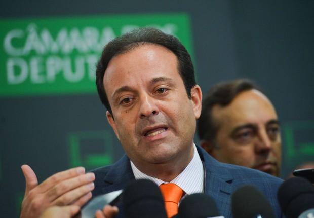 O deputado federal André Moura (PSC-SE) é o líder do governo na Câmara dos Deputados (Foto: Antônio Cruz/Agência Brasil)