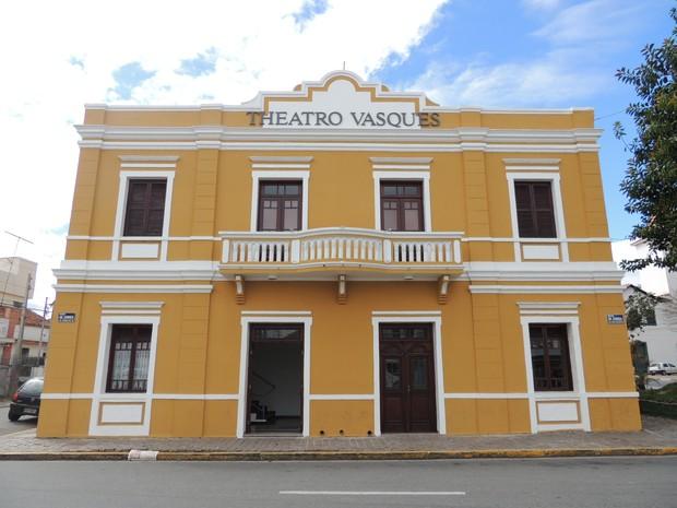 Theatro Vasques Mogi das Cruzes (Foto: Pedro Carlos Leite/G1)