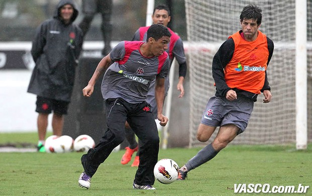 Allan e Juninho, Vasco (Foto: Marcelo Sadio / Site Oficial do Vasco)