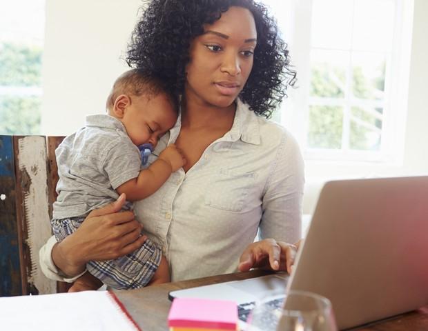 Trabalhar com filhos (Foto: Thinkstock)