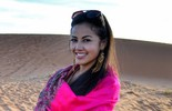 Suellem Morimoto arrasa no deserto do Saara e mostra fotos