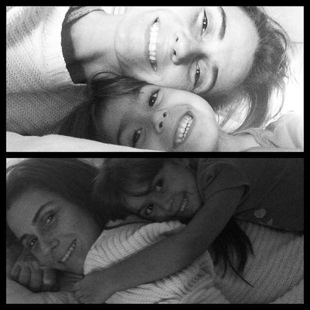 Giovanna Antonelli com as filhas (Foto: Reprodução/Instagram)