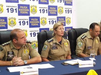 Polícia Rodoviária Federal divulga balanço de acidentes e mortes durante carnaval no país (Foto: Pedro Triginellil/G1)